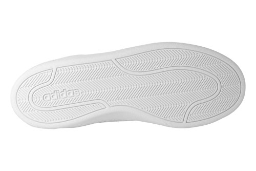 adidas Herren CF Advantage CL Fitnessschuhe Weiß (Ftwbla / Ftwbla / Balcri)