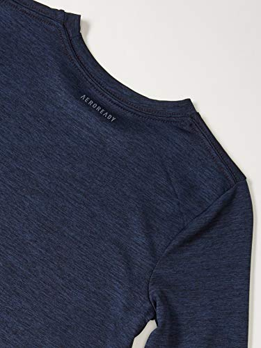 adidas Boys' Stay Dry Moisture-Wicking Aeroready Long Sleeve T-Shirt 3