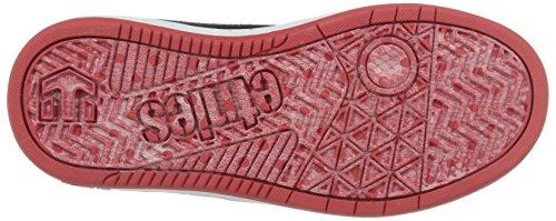 Etnies K Fader LS, Zapatillas de Skateboard, Niños Negro (Black/Blanco/Red978)