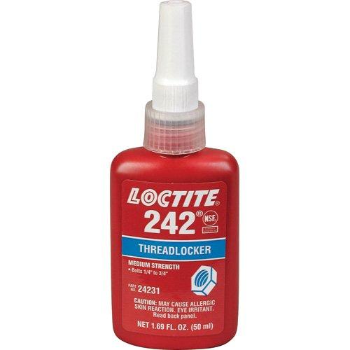 Loctite 24231 Threadlocker 242 Removable - 50 Ml Bottle 2 PA