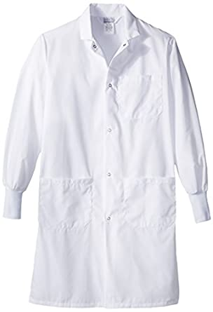 Worklon 439S Polyester/Cotton Lab Coats with Convertible ... - photo #1