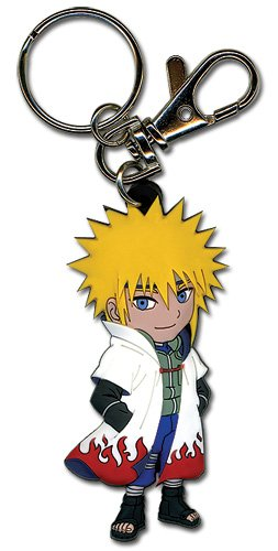 Great Eastern Entertainment Naruto Shippuden 4th Hokage PVC Keychain