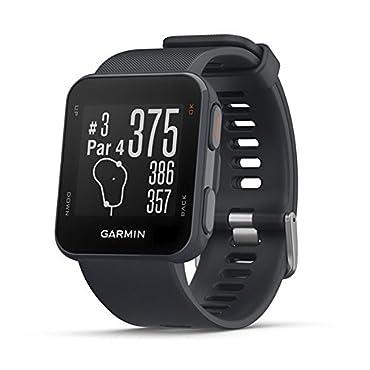 Garmin Approach S10 Lightweight GPS Golf Watch, Granite Blue, 010-02028-02