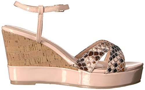 Callisto Women's Lottie Wedge Sandal Blush woCihDN4