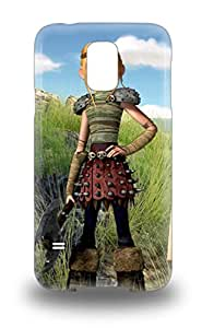 3155606M51531459 For Galaxy S5 Premium Tpu Case Cover Dream Works How To Train Your Dragon Protective Case