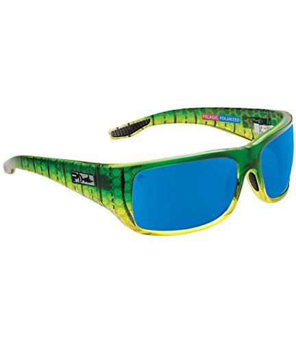 Pelagic Men's Fish Hook Polarized Sunglasses for Fishing | Polycarbonate - Sunglasses Polarized Pelagic