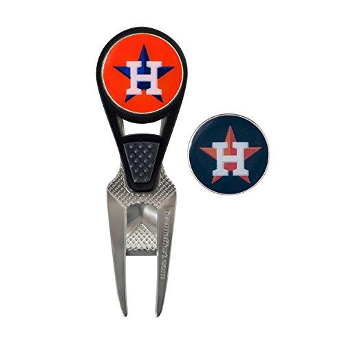 Team Effort MLB Houston Astros Cvx Ball Mark Repair Toolcvx Ball Mark Repair Tool, NA