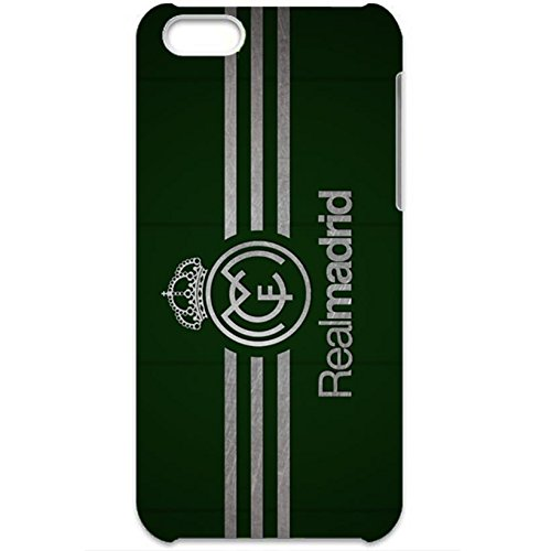 real-madrid-cf-green-background-logo-nobby-plastic-phone-case-for-iphone-5c