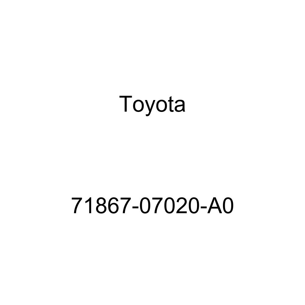 TOYOTA Genuine 71867-07020-A0 Seat Cushion Shield