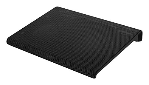 """Aluratek Slim USB Laptop Cooling Pad (Supports Up to 17"""") - ACP01FR"""