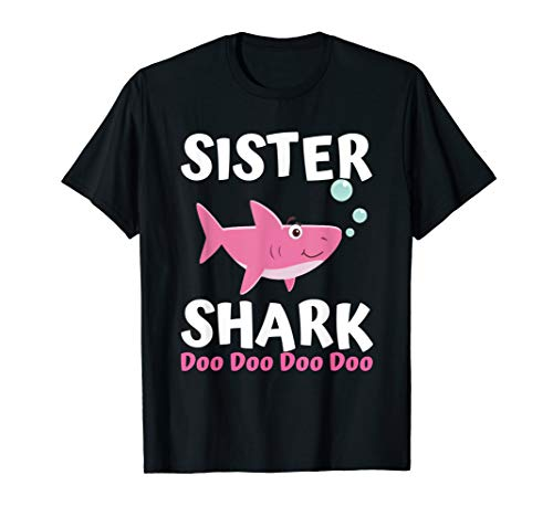 (Sister Shark Doo Doo Shirt Matching Family Shark Shirts)