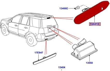 Land Rover New Genuine High Mounted Stop Brake Light LR014462