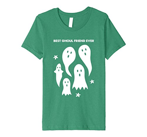 Girls Costumes Friends For Best For Halloween Two (Kids Funny Halloween T-Shirt - Ghosts - Best Ghoul Friend Ever 6 Kelly)