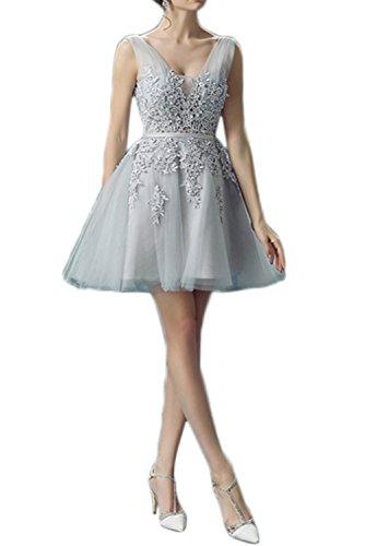 Prom Style Damen Belibet ALinie Spitze Abendkleider Abschlussball ...