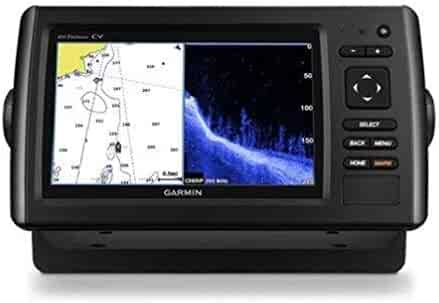 Garmin Echomap Chirp 74Cv with transducer, 010-01801-01 (Renewed)