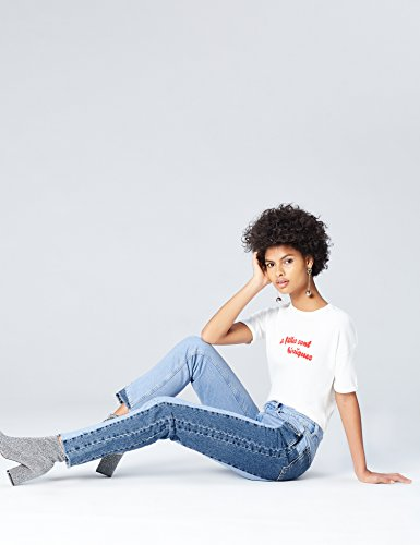 mid Alta Donna Blue Vita Blu Jeans Find Dritti A I4Rq0z