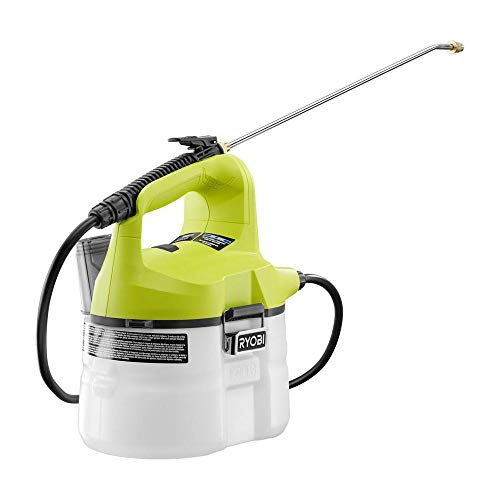 - Ryobi ONE+ 18-Volt Lithium-Ion Cordless Chemical Sprayer - (Battery and Charger Not Included) - P2800A