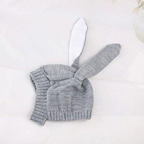 Rurah Baby Hats Bunny Ear Winter Crochet Earmuff Earcap K...