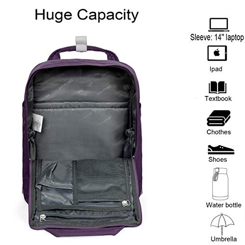 4c7e42dd3338 Himawari Backpack Laptop Backpack College Backpack School Bag 14.9 ...
