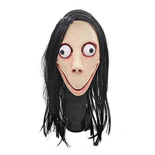 Scary Mask Guy From Majoras Mask - Luckycyc MOMO Mask,Death Game Halloween Mask