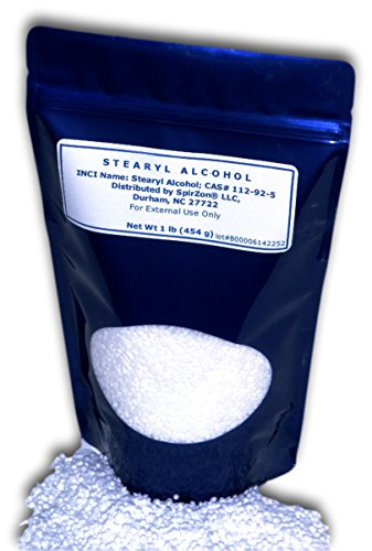 SZ Stearyl Alcohol 1 Lb. For DIY Cosmetics.