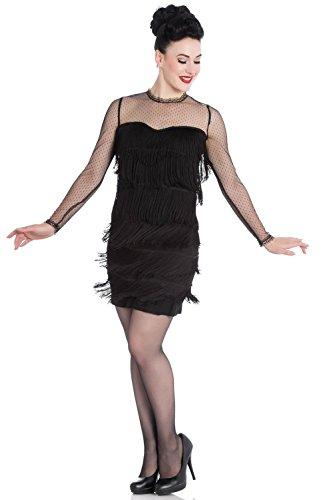 cbf12a1e4263f2 Hell Bunny Kleid GIN RICKEY 1920'S DRESS 4729 black Black 5n97R2o5 ...