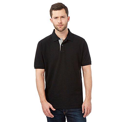 Maine New England Herren Poloshirt schwarz schwarz Einheitsgröße