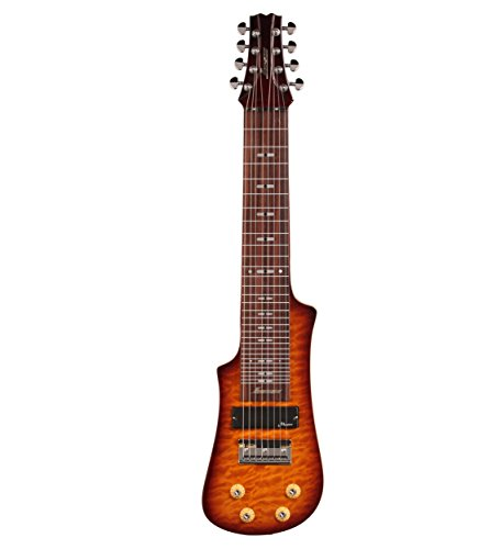 Vorson LT2308 VS 8-String Lap Steel Guitar with Gig Bag, Transparent Vintage Sunburst by Vorson