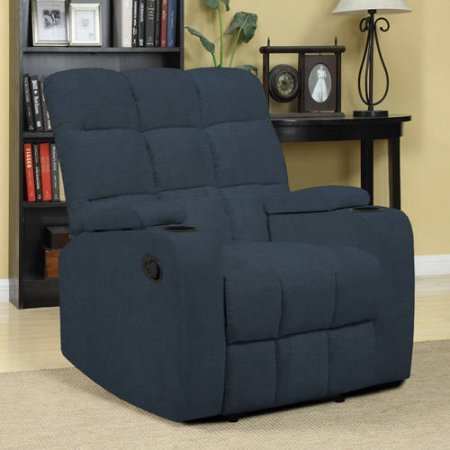 ProLounger Storage Microfiber Recliner RCL16 AAA85
