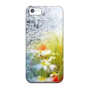New Premium Flip Case Cover Winter Into Spring Skin Case For Iphone 5c wangjiang maoyi