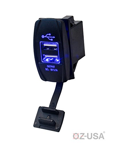 OZ USA Double Rocker Universal backlit