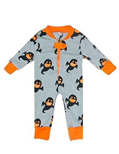 Little Hand Baby Kinder Schlafanzug für Jungen und Mädchen Schlafstrampler Halloween Schlafanzugoberteil Pyjama 80 86 92
