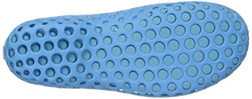 Soft Breathable Show Shoes Fashion Light Leader Hollow Women's Mesh blue Sandals Water w6q88Xg