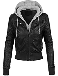 Womens Leather Bike Jackets