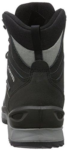 Lowa Sedrun Gtx Mid, Zapatos de High Rise Senderismo para Hombre Negro (schwarz/grau)