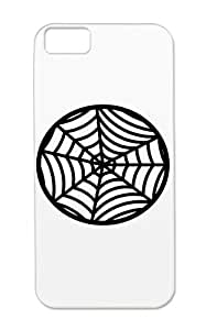 Skid-proof Insect Spider Insects Animals Animals Nature TPU Black Spider Protective Hard Case For Iphone 5c
