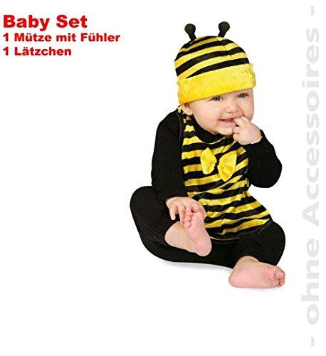 Biene 2tlg Baby Set Susses Bienchen Latzchen Mutze Mit Fuhler