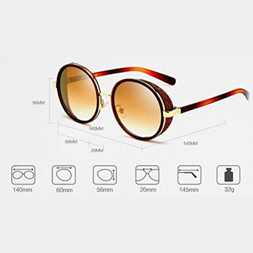 Unisex Mujeres Protección de Moda de Gafas Eyewear para UV Silver y Sol Sun Hombres PC Zhhlinyuan Glasses ZSq7xwXZ