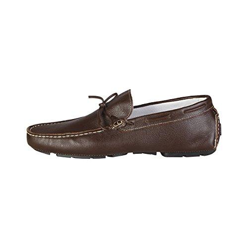 V 1969 - JORIS_TDM Herren-Müßiggänger Mokassin Schlüpfen Auf Schuhe Bootsschuhe 100% ECHTLEDER