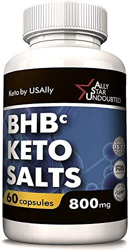 Keto Diet Pills from USAlly – Keto Diet Pills Weight Loss – 60 Capsules 800mg BHB Keto – Upgrade Formula with Powerful Result – Always in Great Shape