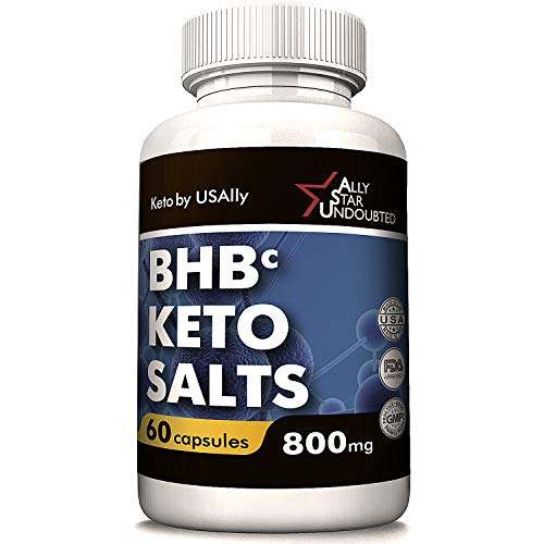 Keto Diet Pills from USAlly - Keto Diet Pills Weight Loss - 60 Capsules(800mg) BHB Keto - Upgrade Formula with Powerful Result - Always in Great Shape