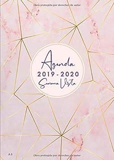 Agenda Mensual 2019 2020: Julio 2019 a Diciembre 2020 ...
