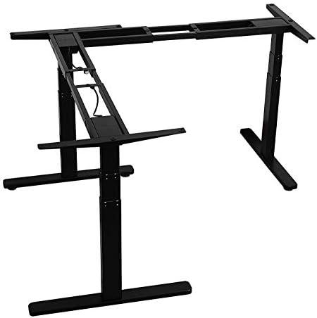 Cheap AVLT Electric L Shape Desk home office desk for sale