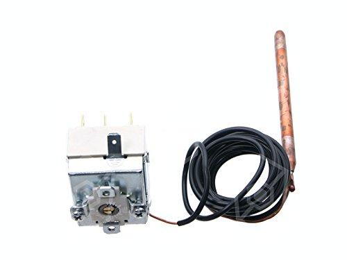 Thermostat pour lave-vaisselle comenda, Angelo po, dihr, krefft, Kromo 16A 1broches 1CO 30à 90°C T. Max 90°C Sonde Longueur 95mm Sonde Ø 6,5mm