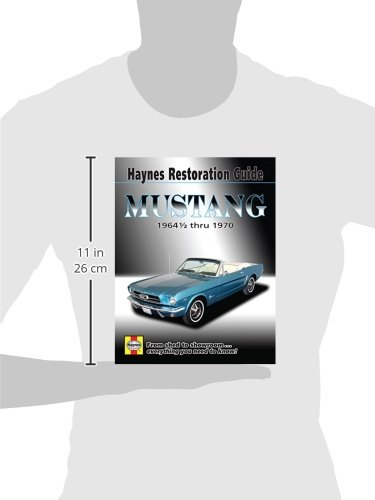 mustang 1964 1 2 thru 1970 hayne s automotive repair manual jay rh amazon com 2012 Ford Mustang Owners Manual Ford Mustang Repair Manual