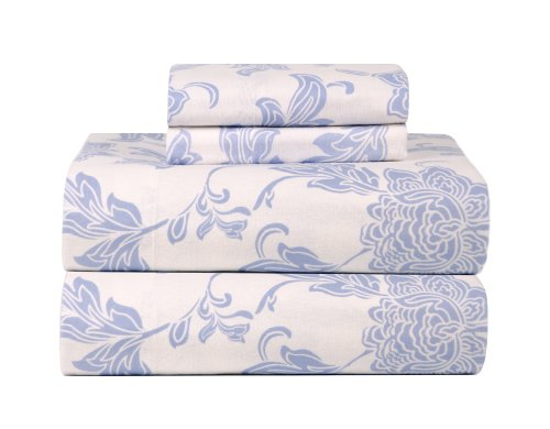 Celeste Home Celeste Home Ultra Soft Flannel Sheet Set in Bl
