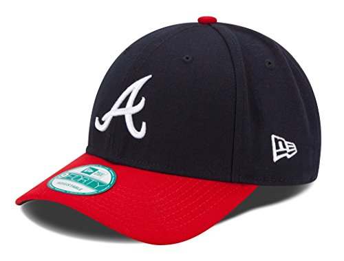 MLB The League Atlanta Braves Game 9Forty Adjustable Cap (Atlanta Braves Era New)