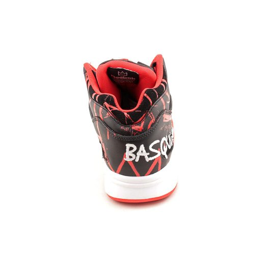 Reebok The Basquiat Pump Omni Lite Sneaker,10,Red by Reebok (Image #5)
