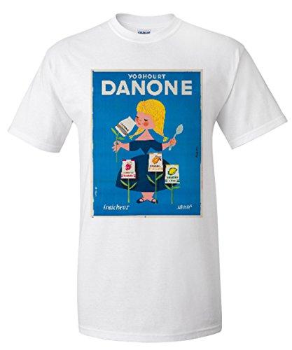 danone-vintage-poster-artist-gauthier-france-c-1955-white-t-shirt-x-large