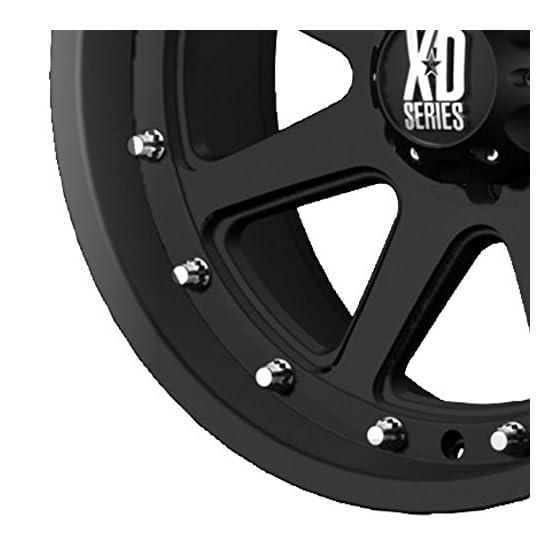 XD Series by KMC Wheels XD798 Addict Matte Black Wheel (17×9″/5×139.7mm, -12mm offset)